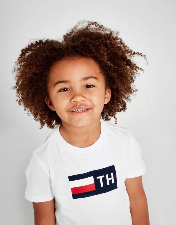 Tommy Hilfiger Flock Logo T-Shirt Children