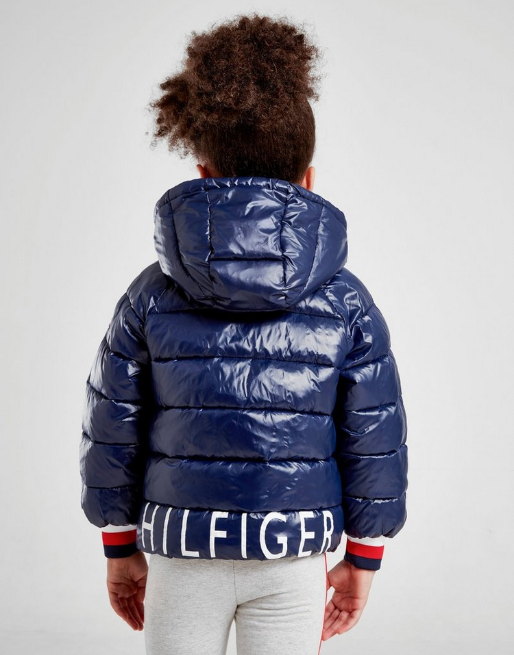 Tommy Hilfiger Girls' Shine Puffa Jacket Children