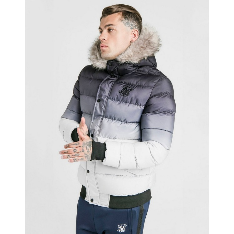 SikSilk chaqueta parka Fade