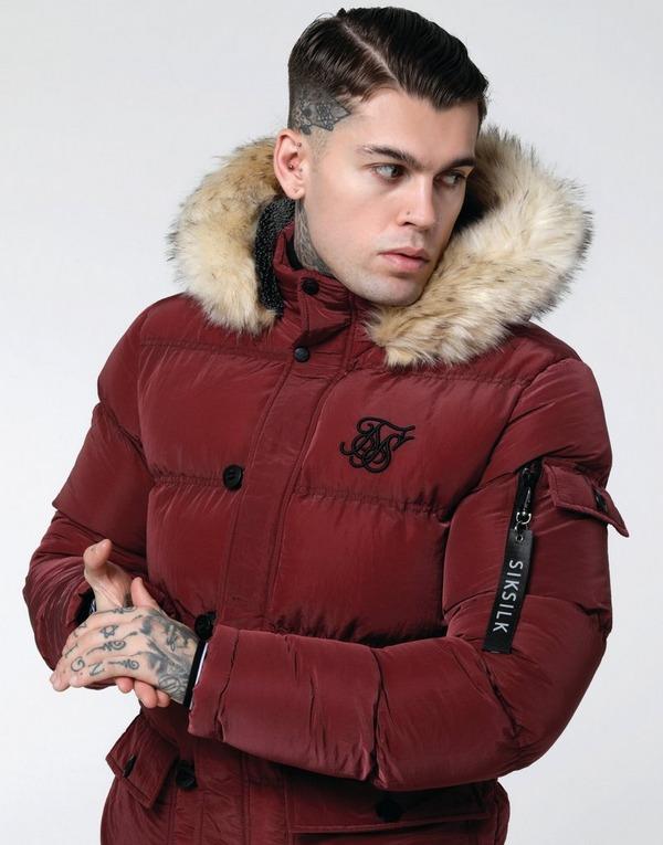 SikSilk Parka Jacket