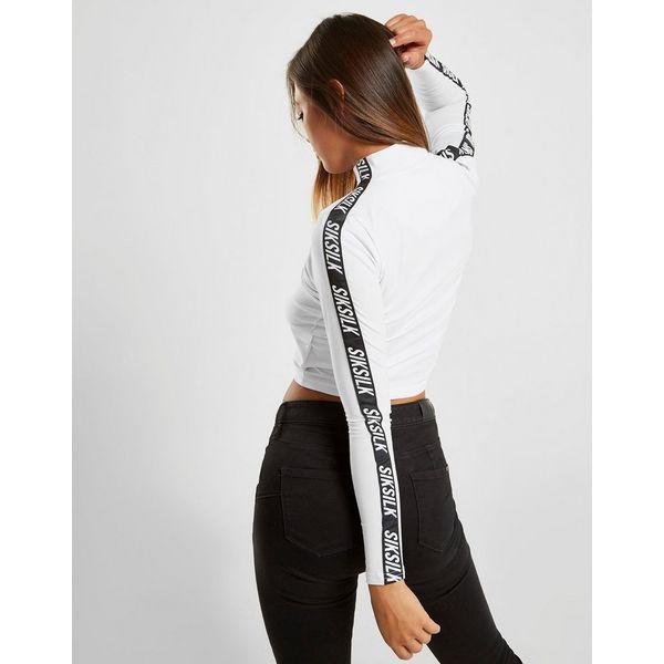 SikSilk camiseta de manga larga Tape