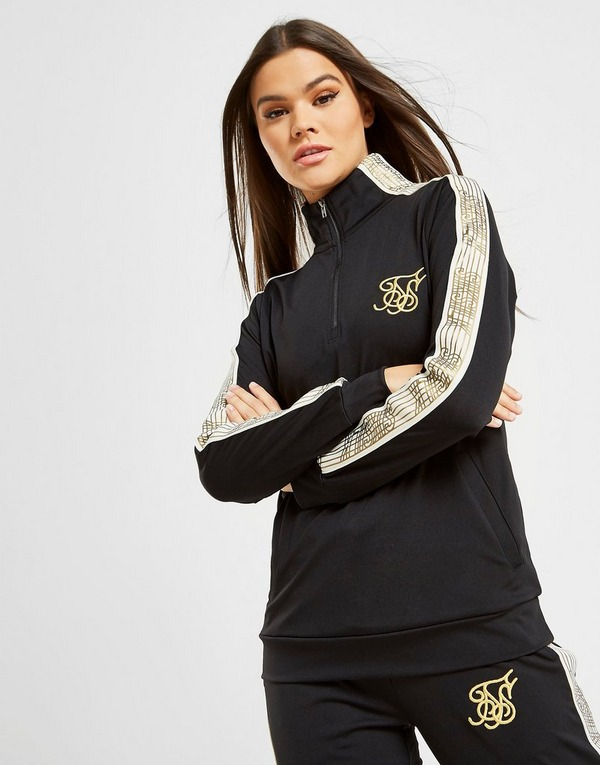 SikSilk 1/4 Zip Track Top