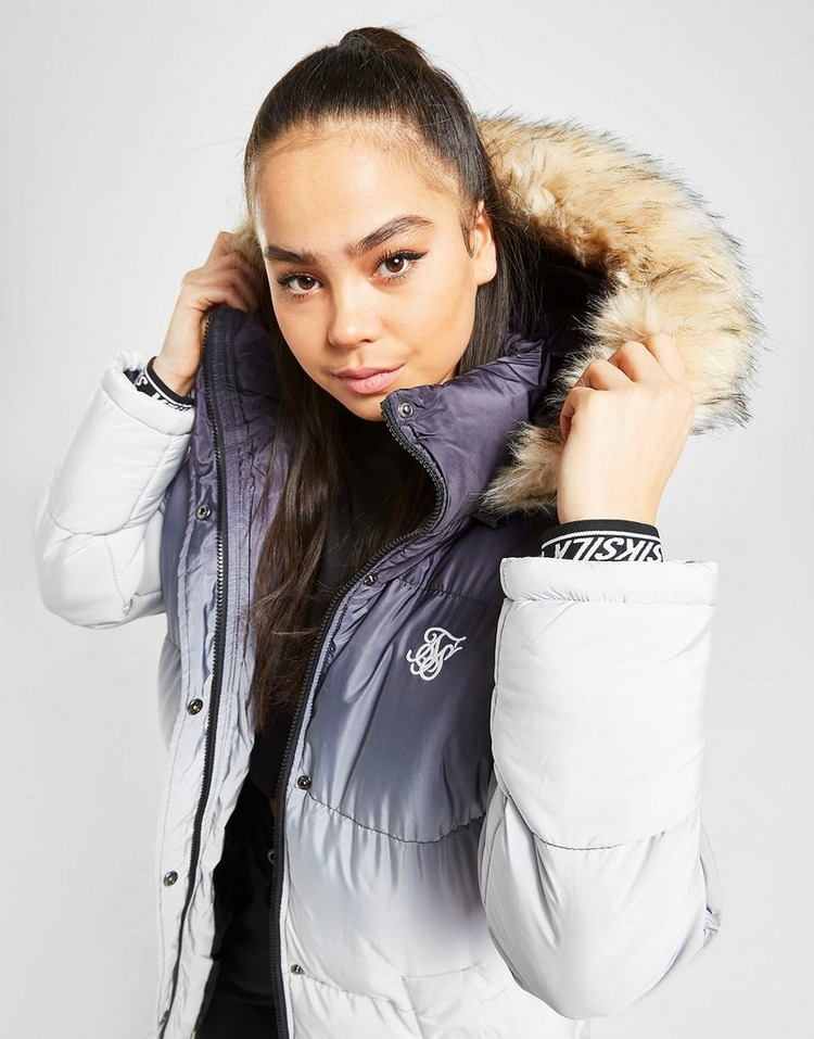 SikSilk Fur Padded Jacket