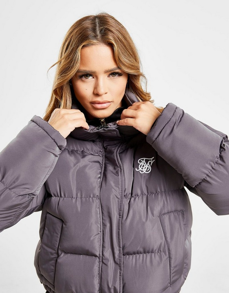 SikSilk chaqueta Crop Padded