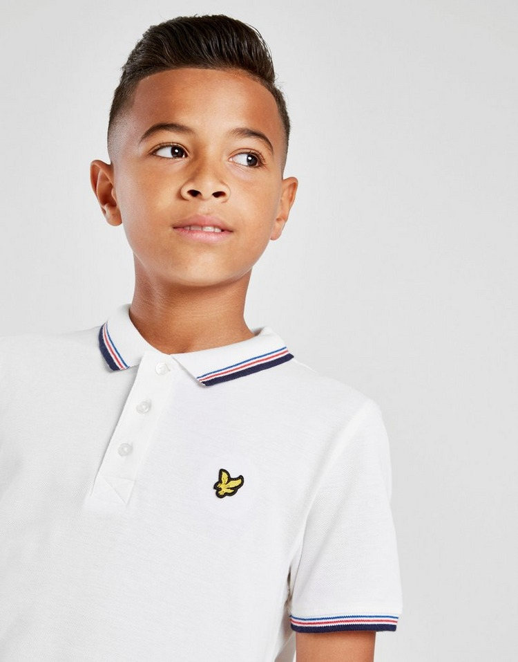 Lyle & Scott Small Logo Tipped Polo Shirt Junior