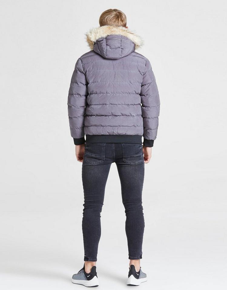 ILLUSIVE LONDON chaqueta Cropped Fur júnior