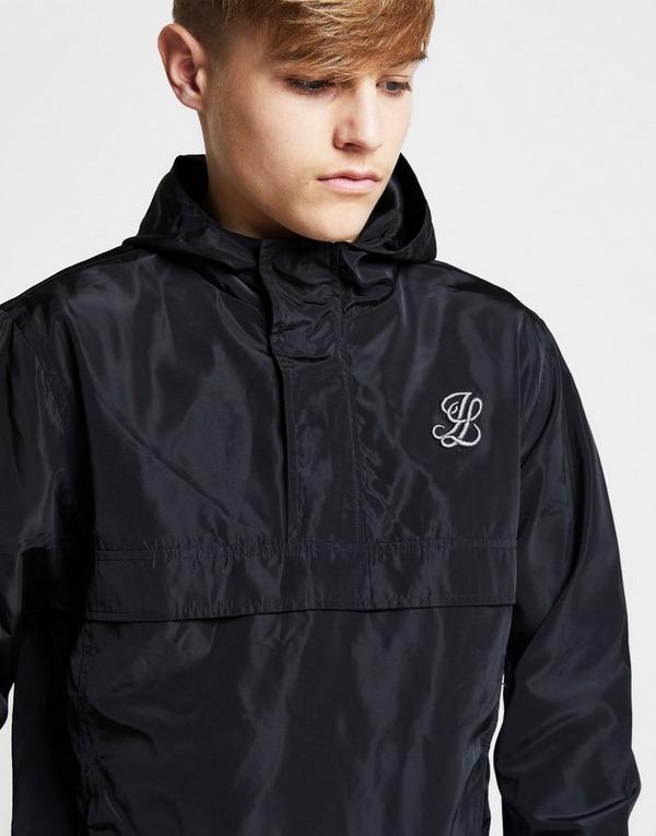 ILLUSIVE LONDON Colour Block 1/4 Zip Jacket Junior