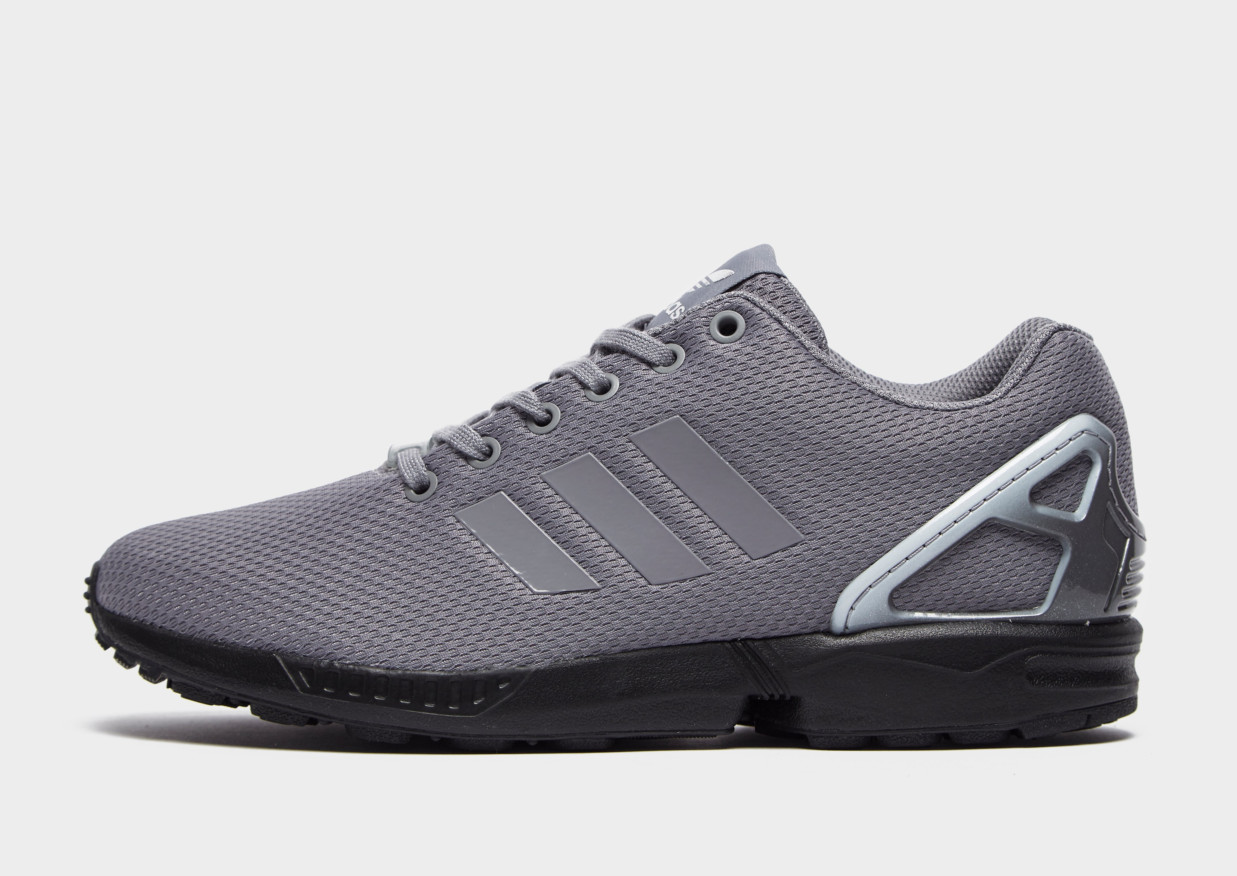 Fast Black Adidas Originals Women's Zx Flux Lace W Trainers