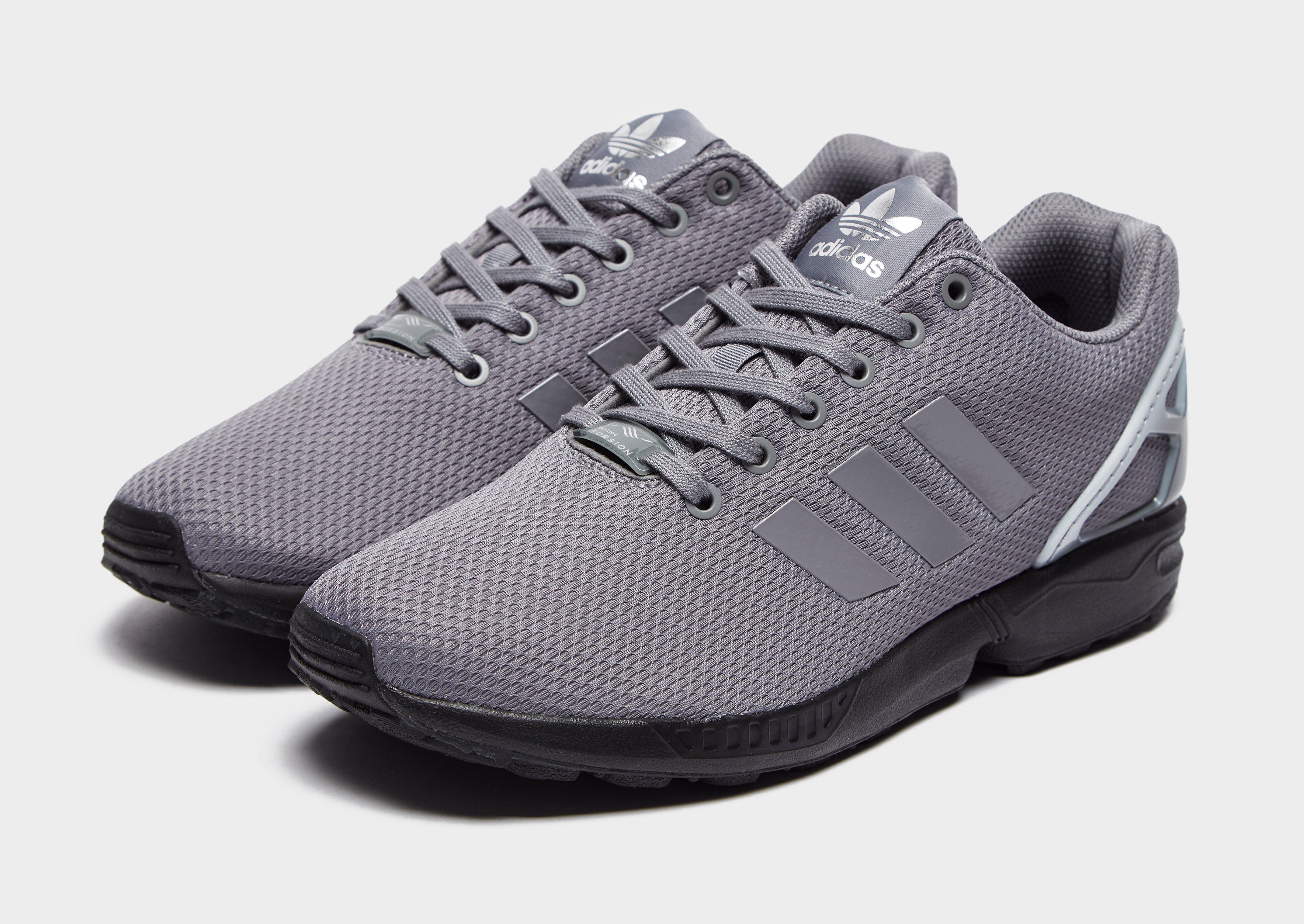 adidas zx flux black heren