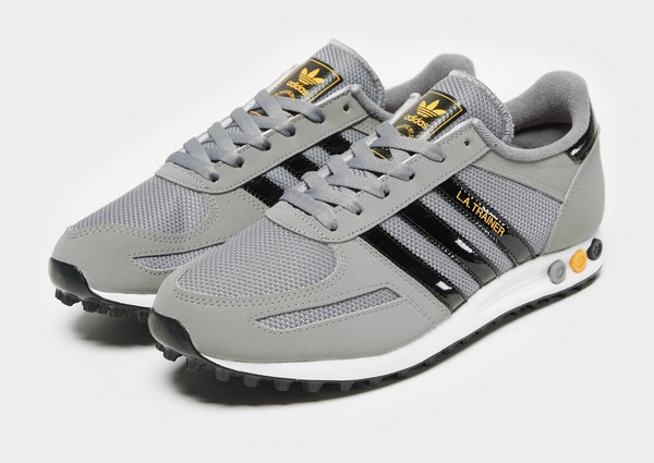 Shop den adidas Originals LA Trainer OG Herren in Grau | JD