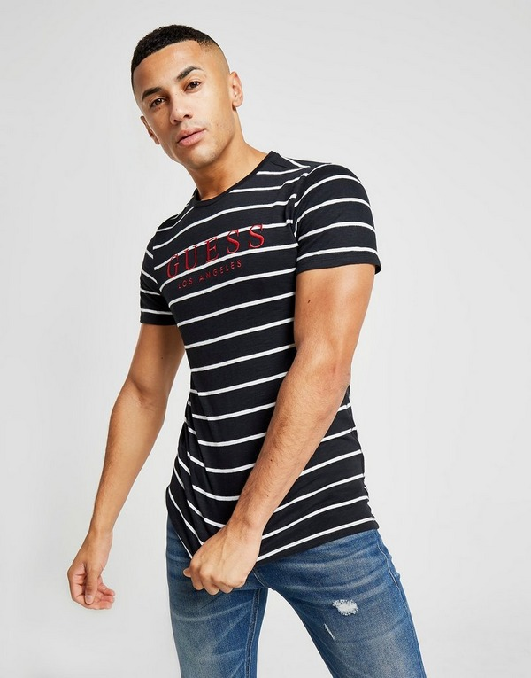 GUESS Division Stripe T-Shirt