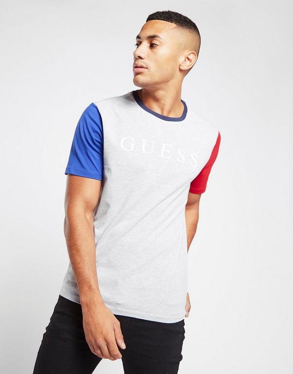 GUESS Contrast Sleeve T-Shirt