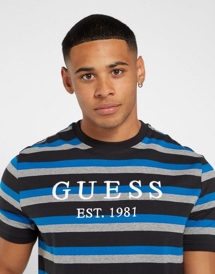 GUESS Yarn Dye Stripe T-Shirt