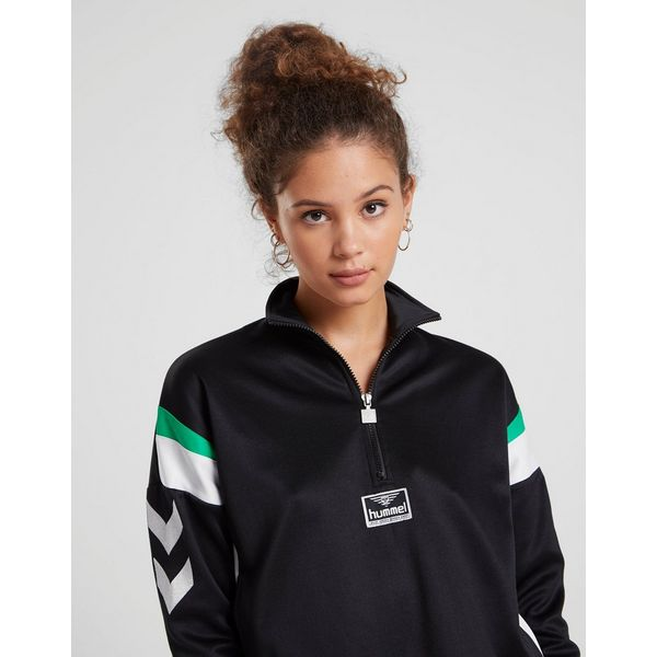 Hummel Chevron Sleeve 1/4 Zip Track Top