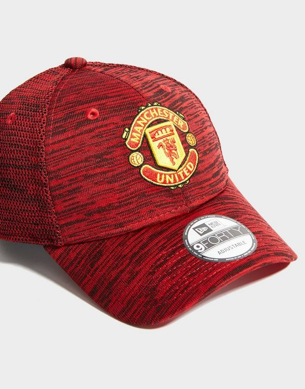 4dee55394 New Era Manchester United FC 9FORTY Engineered Cap | JD Sports