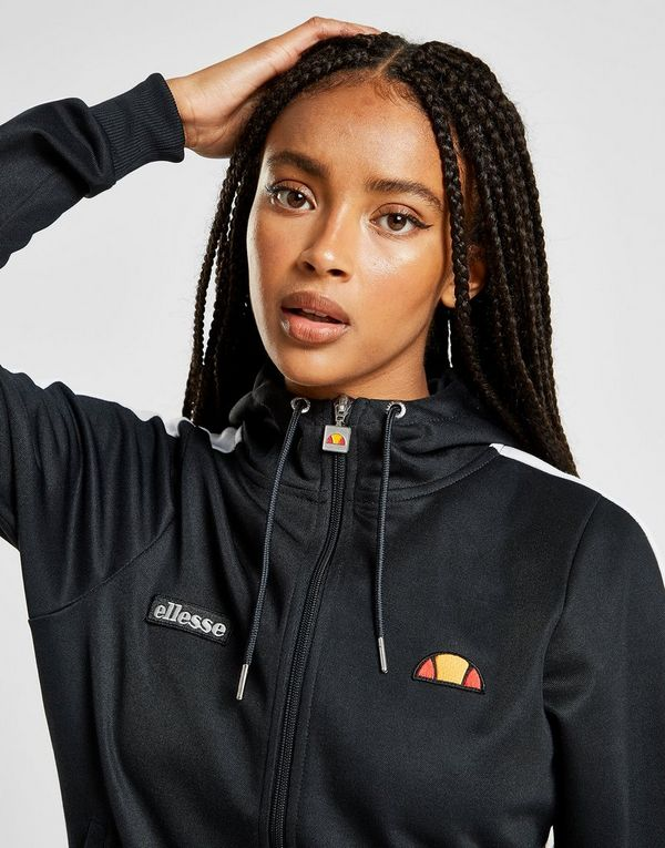 various design cheap for discount best deals on Ellesse Tricot Stripe Full Zip Hoodie | JD Sports