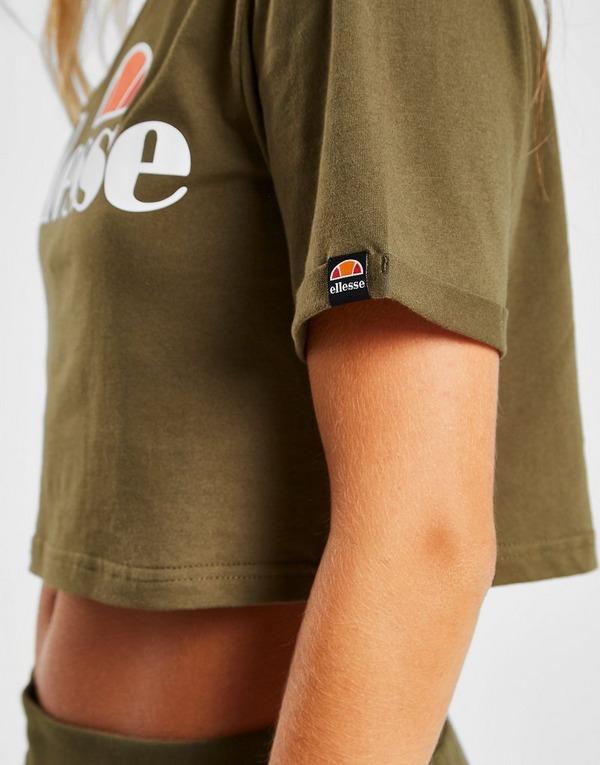 Ellesse Core Logo Crop T-Shirt