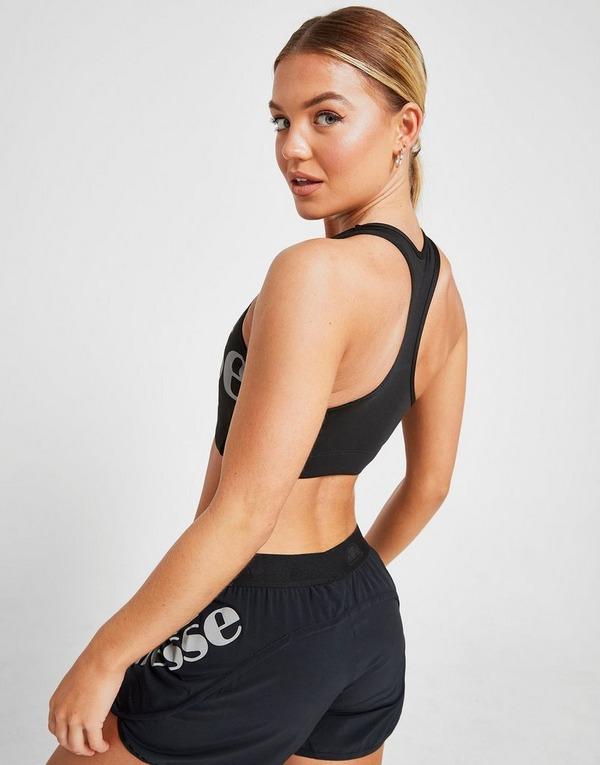 Compra Ellesse sujetador Core Logo en Negro | JD Sports