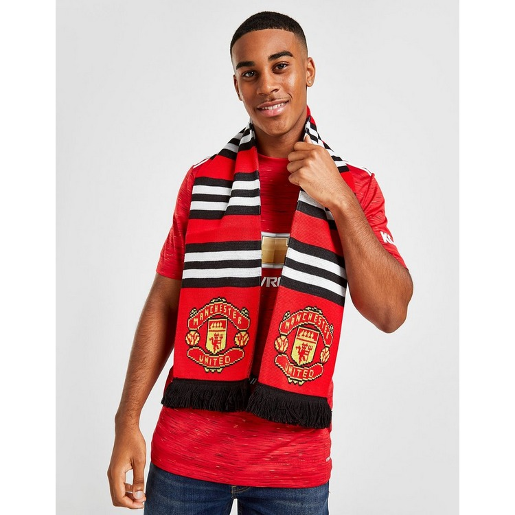 Official Team Manchester United FC Stripe Scarf