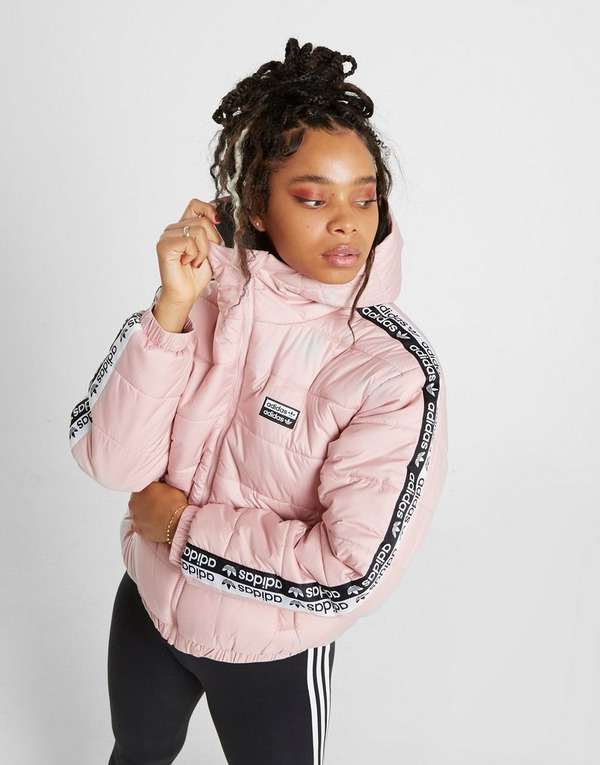 adidas Originals Tape Padded Jacke Damen | JD Sports
