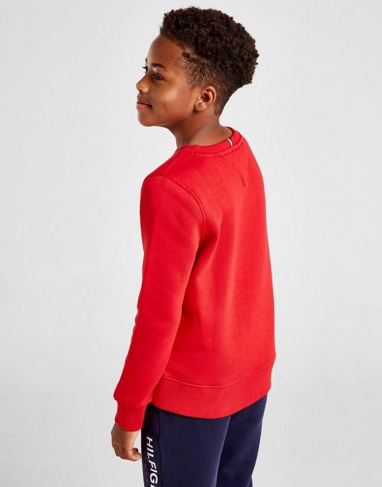 Tommy Hilfiger Essential Logo Crew Sweatshirt Junior