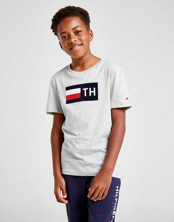 Tommy Hilfiger Flock Short Sleeve T-Shirt Junior