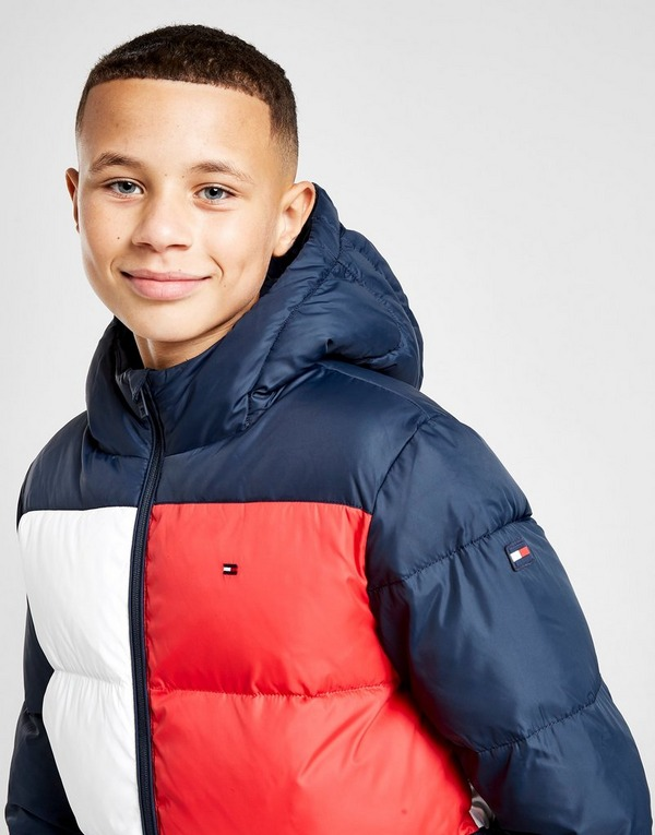 Tommy Hilfiger Padded Flag Jacket Junior