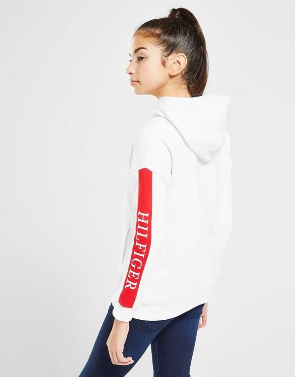 Tommy Hilfiger Girls' Essential Colour Block Logo Hoodie Junior