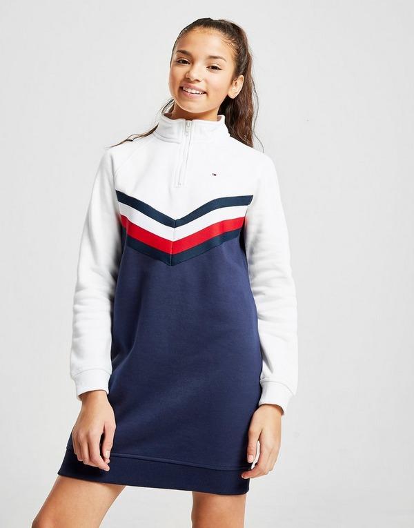 Tommy Hilfiger Girls' Essential Sweatshirt Dress Junior