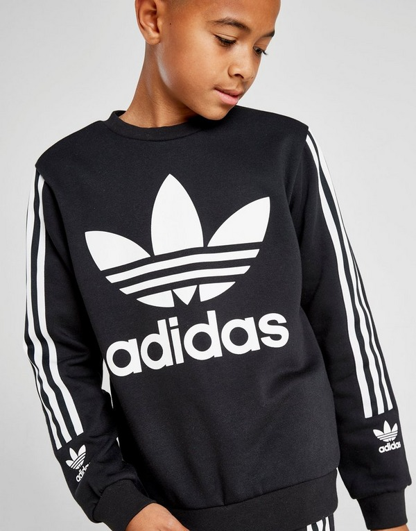 adidas Originals Lock Up Crew Sweatshirt Junior | JD Sports