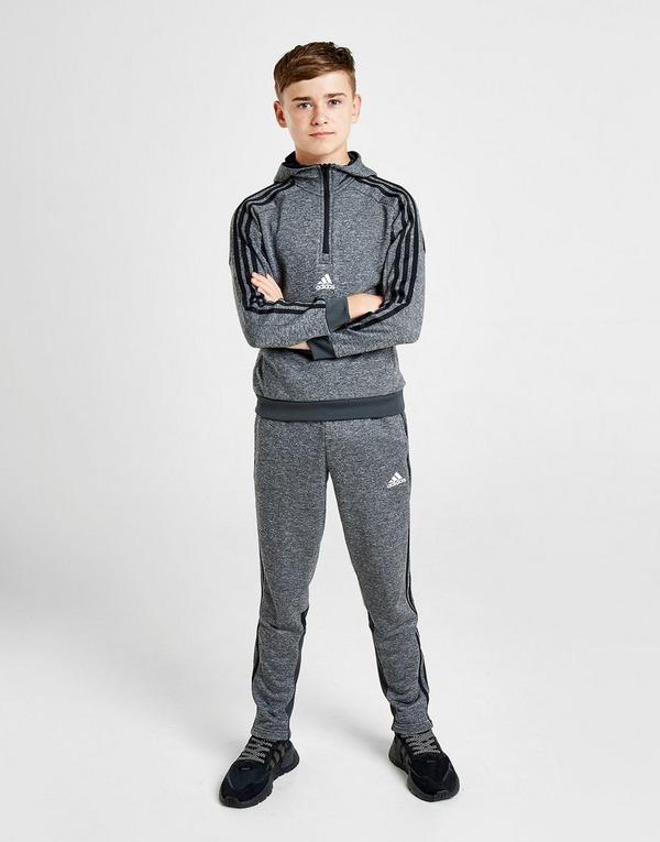 Koop Grijs adidas Match 12 Zip Hoodie Junior | JD Sports