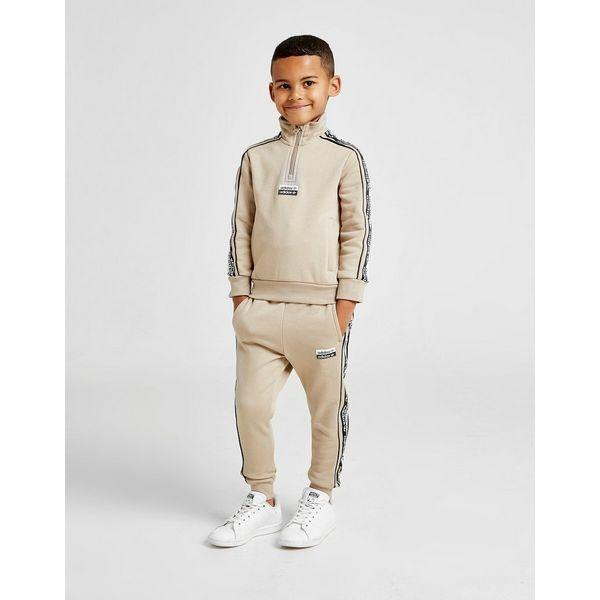 adidas Originals R.Y.V. Tape 1/2 Zip Suit Children