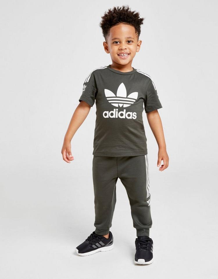 adidas Originals Lock Up Trefoil Logo T-Shirt Infant