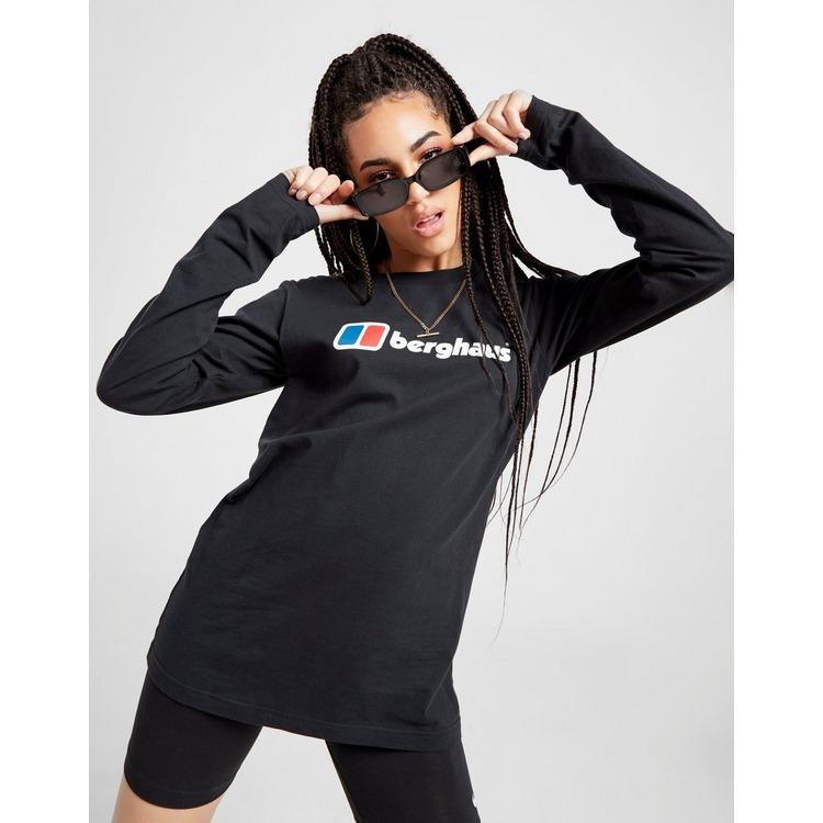 Berghaus Core Logo Long Sleeve Boyfriend T-Shirt