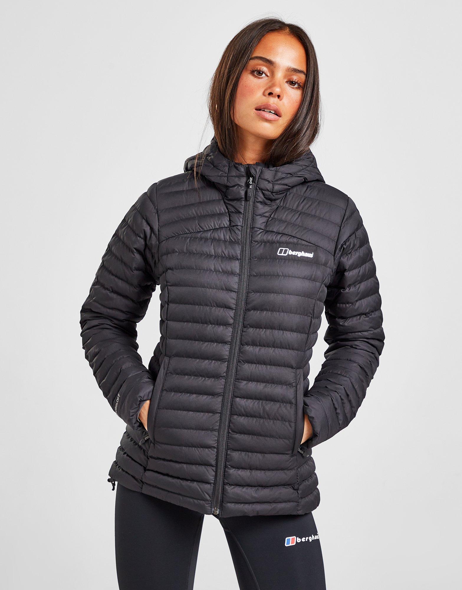 Osta Berghaus Nula kevyesti topattu takki Naiset Musta | JD
