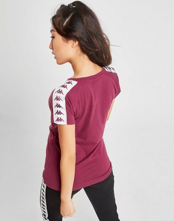 Kappa Banda Tape Slim T-Shirt