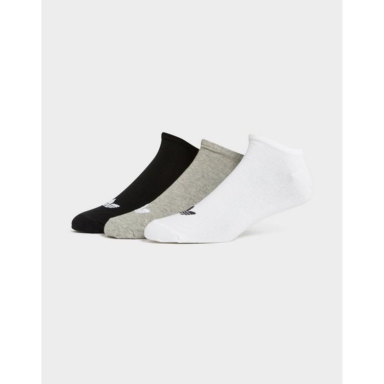 adidas Originals 3-Pack Trefoil Liner Socks