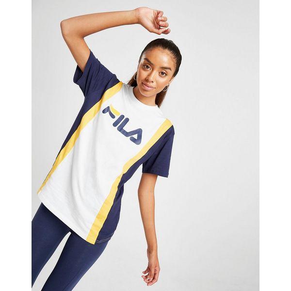 Fila Stripe Panel Boyfriend T-Shirt