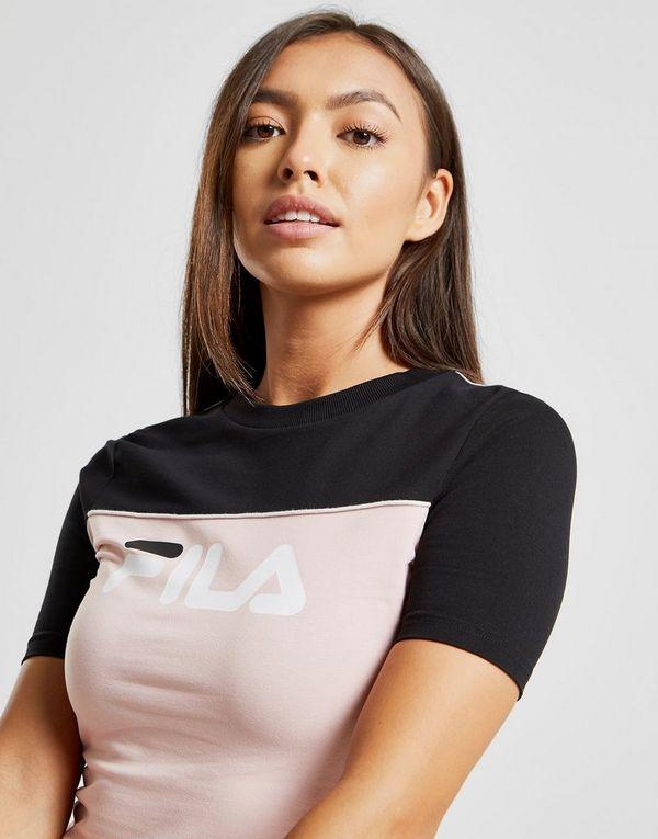 Fila Piping Crop T-Shirt