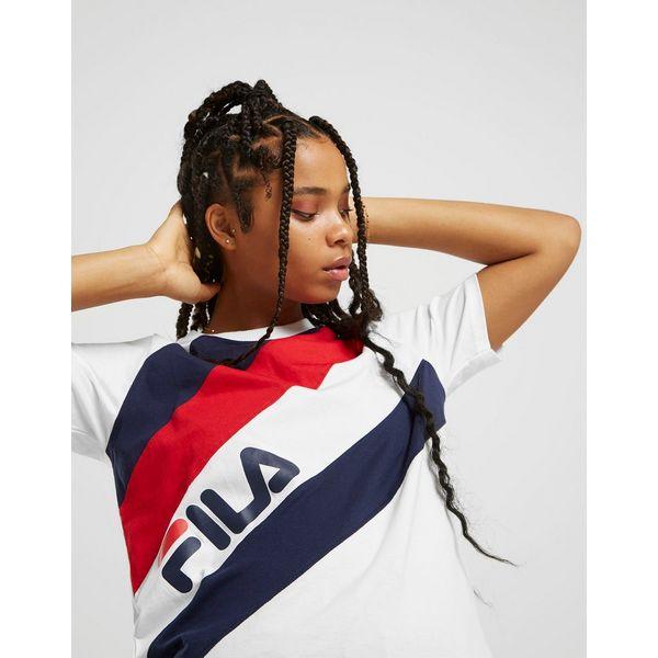Fila Multi Stripe Boyfriend T-Shirt