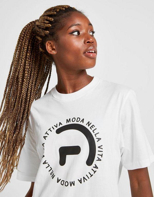 Fila Badge Logo Boyfriend T-Shirt