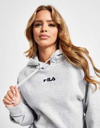 groothandelaar schattig authentiek Fila Back Logo Boyfriend Hoodie   JD Sports