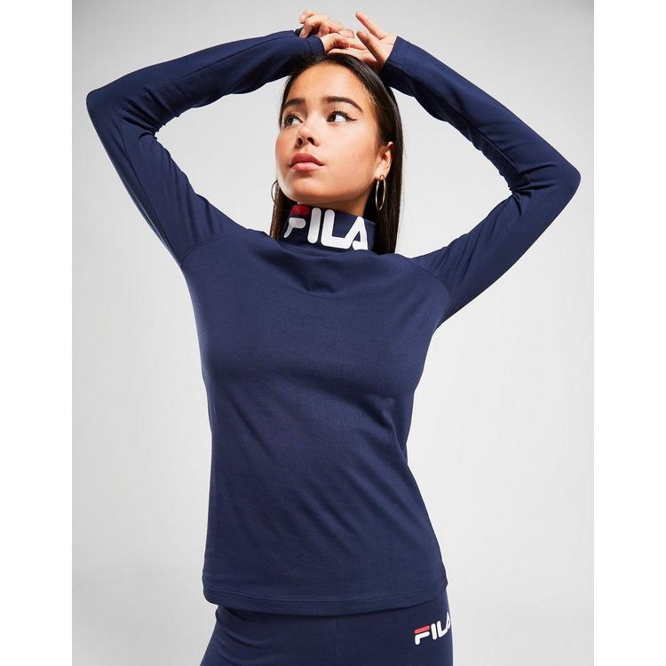 Fila Logo High Neck T-Shirt