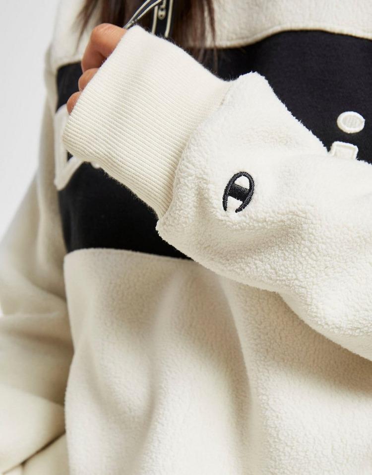 Champion Polar Fleece Panel Overhead Hoodie