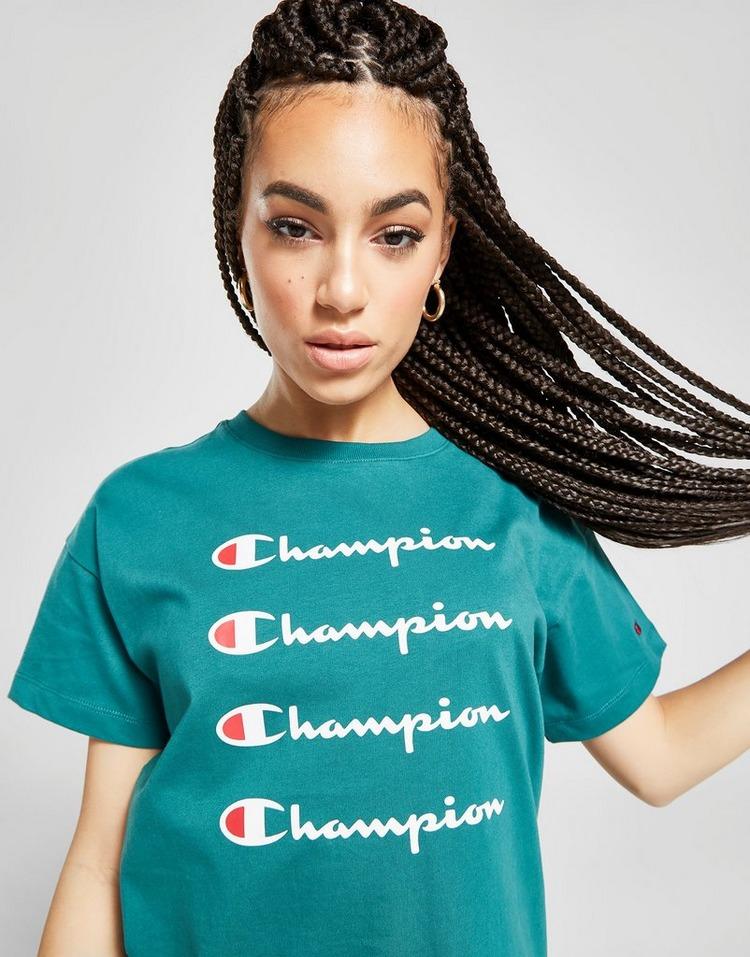 Champion Stack Logo Boyfriend T-Shirt