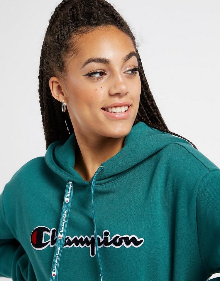 Champion Logo Boyfriend Hoodie