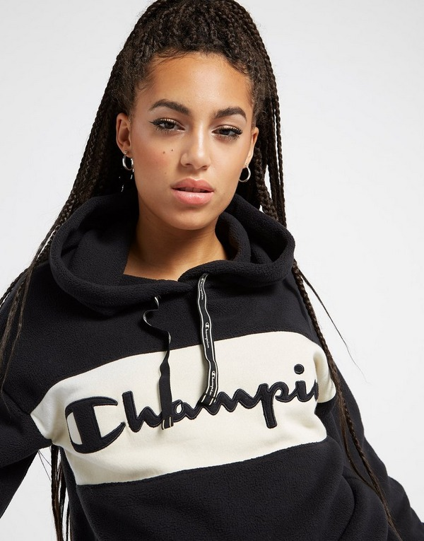 Champion Polar Fleece Panel Overhead Hoodie