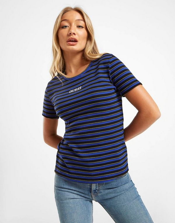 GUESS Ribbed Stripe T-Shirt
