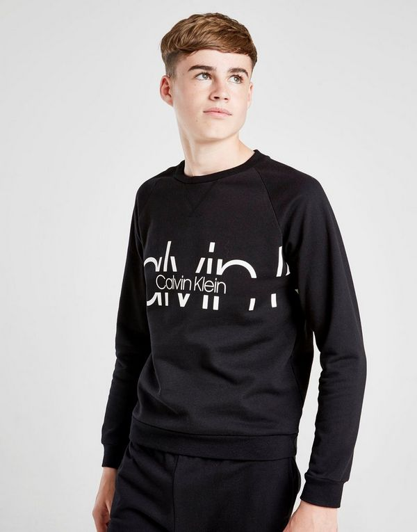 Calvin Klein Large Logo Sweatshirt Junior