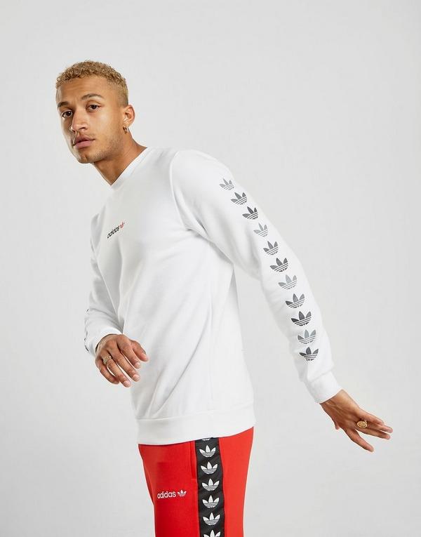 buy best look good shoes sale good adidas Originals Sweat-shirt Tape QQR Crew Homme   JD Sports